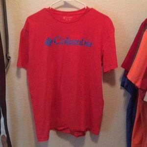 Columbia Men's Tee Shirt Size M